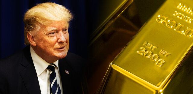 بازار طلا چه واکنشی به بیماری ترامپ خواهد داشت