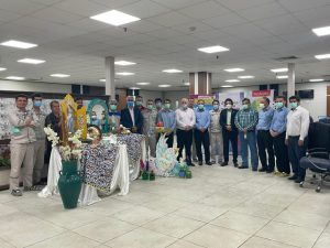 دیدار صمیمانه نوروزی مدیرعامل شرکت پتروشیمی اروند با کارکنان